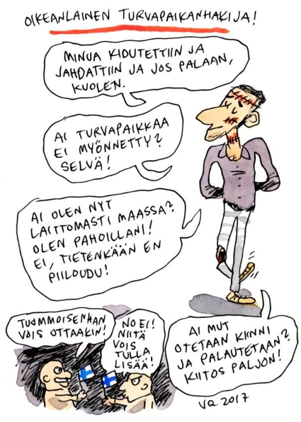 villeranta-turvapaikanhakija